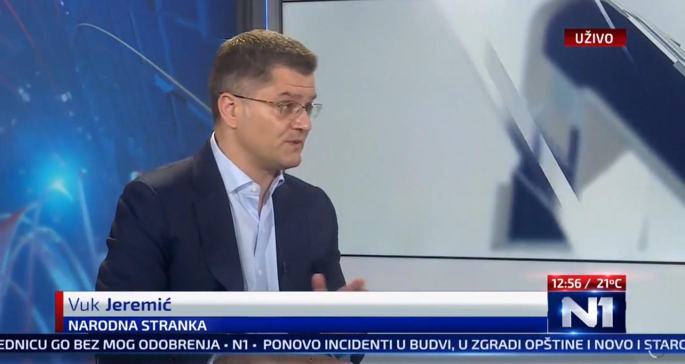 Јеремић: Вучић ће у Вашингтону предати део суверенитета Србије