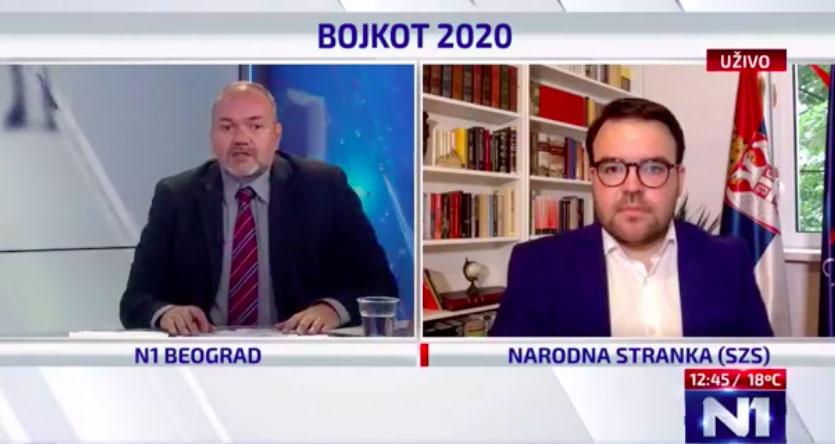 Стефан Јовановић: Бојкот је успео, већина грађана остала код куће