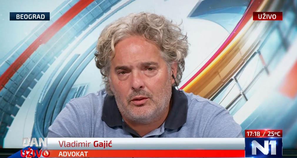 Гајић: Вучић злоупотребљава судове и полицију против народа, хулигани су његови савезници