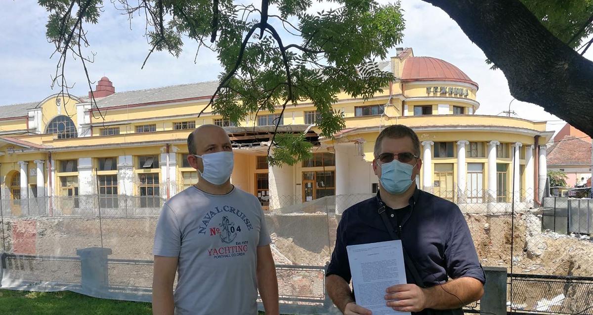 Народна странка Крагујевац: Кривичне пријаве против одговорних за урушавање Градске тржнице