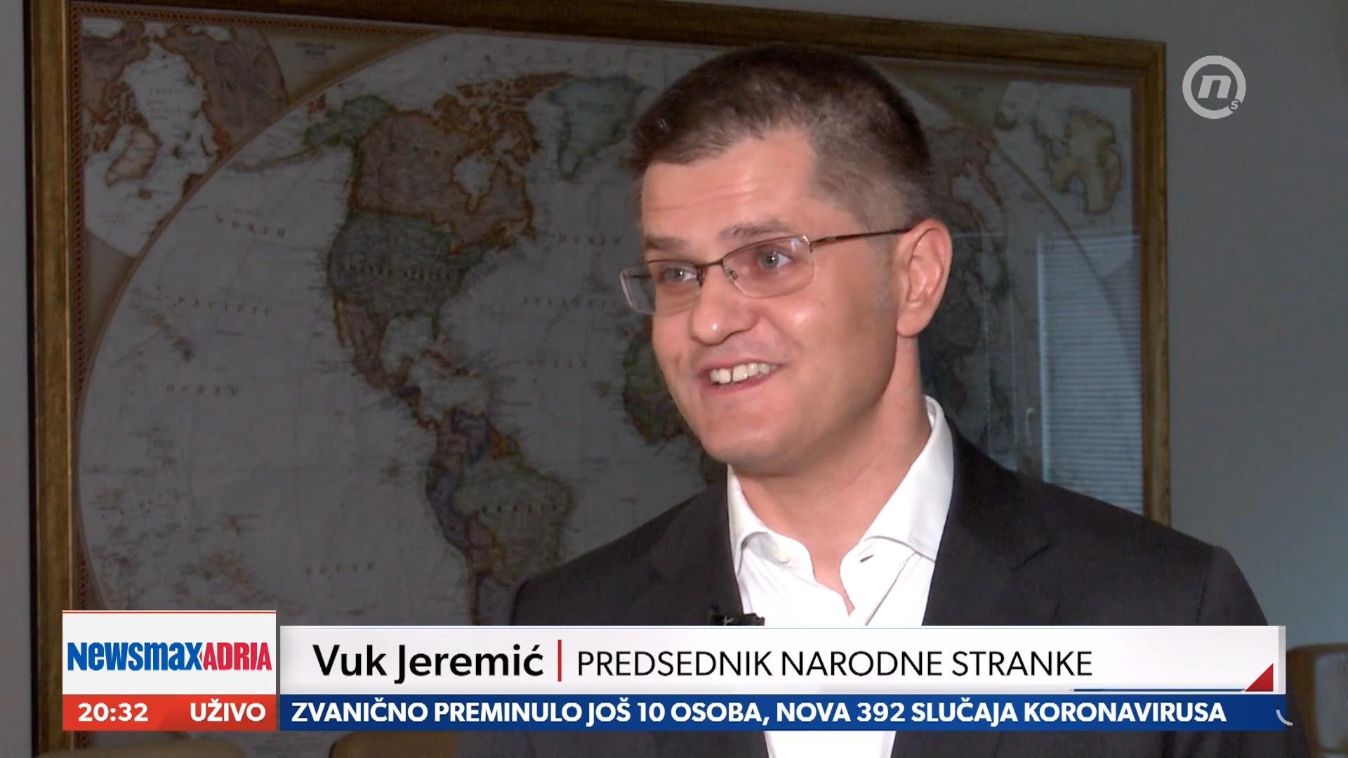 Јеремић: Бруталност српских власти променила мишљење многих у Европи