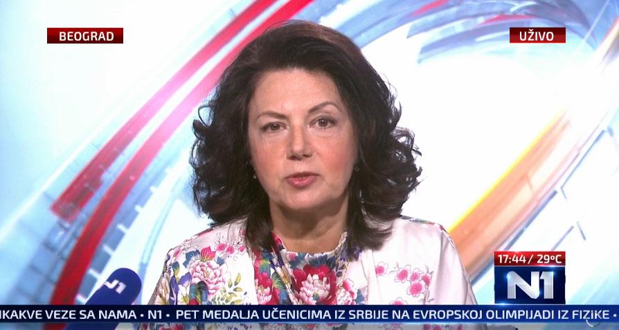Санда Рашковић Ивић: Избори на свим нивоима 2022. године ако Вучић направи концентрациону владу