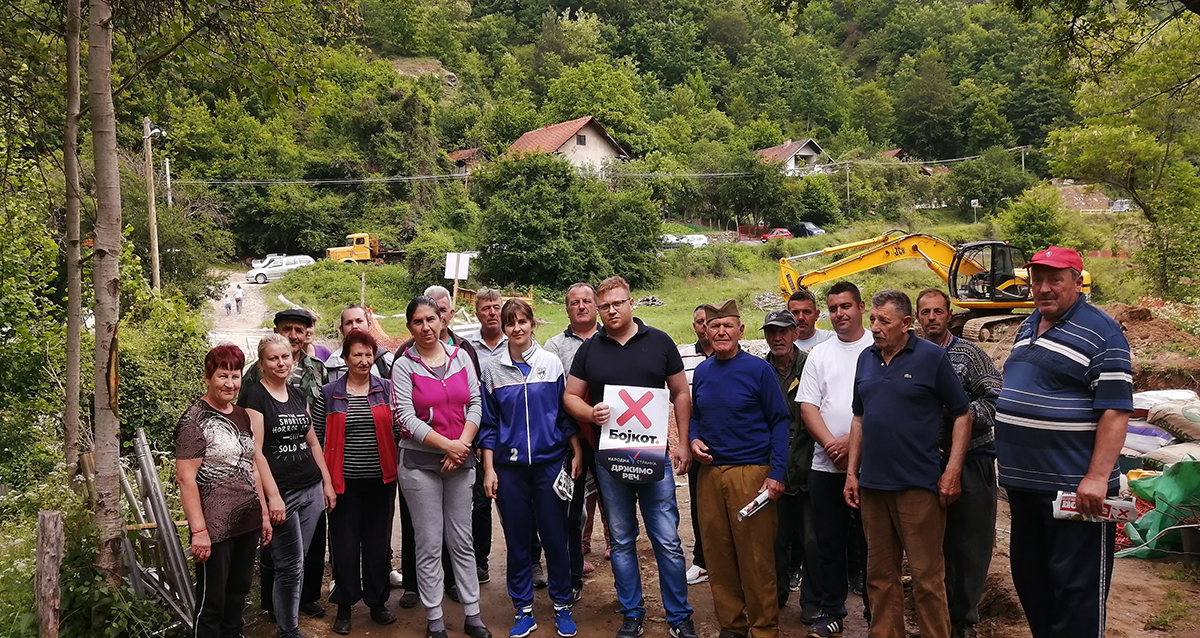 Народна странка Трговиште:Подршка мештанима Доњег Стајевца против изградње мини хидроелектрана