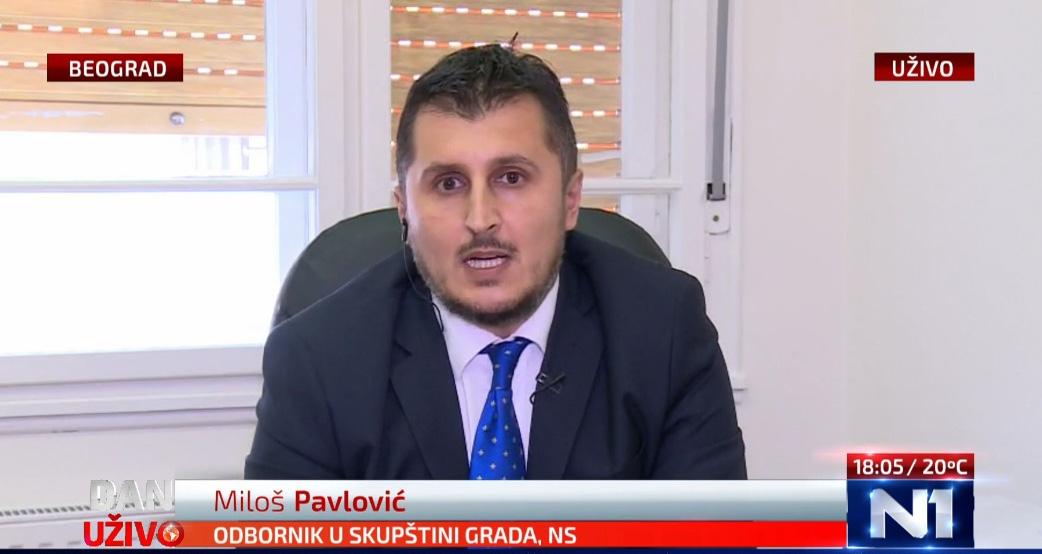 Павловић: Власт СНС-а непотребним реконструкцијама прелива новац у приватне џепове функционера