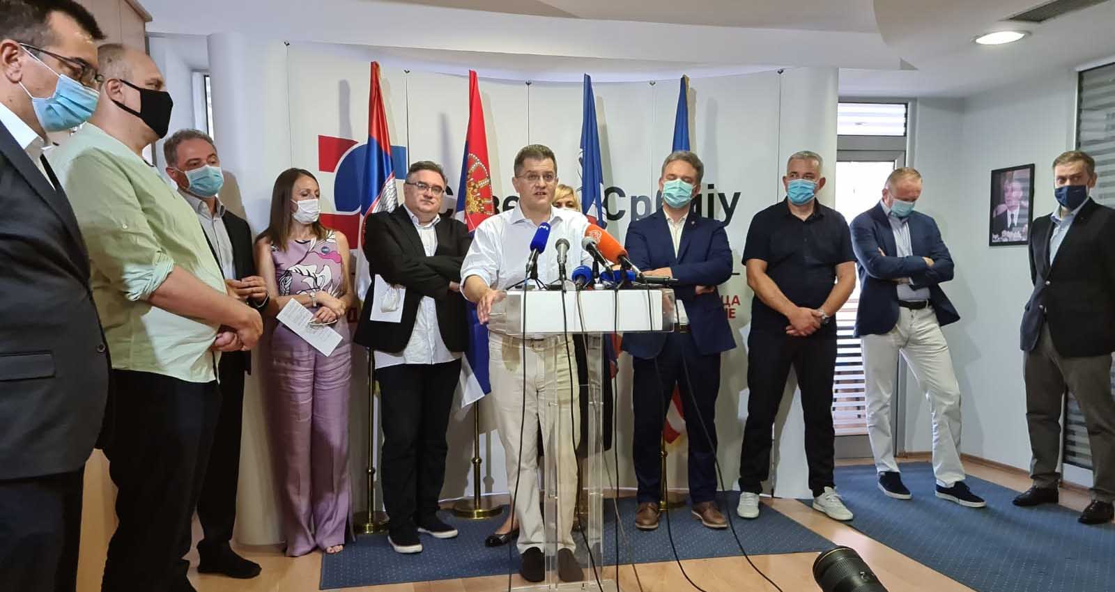 Јеремић: Циљ је промена политичког система
