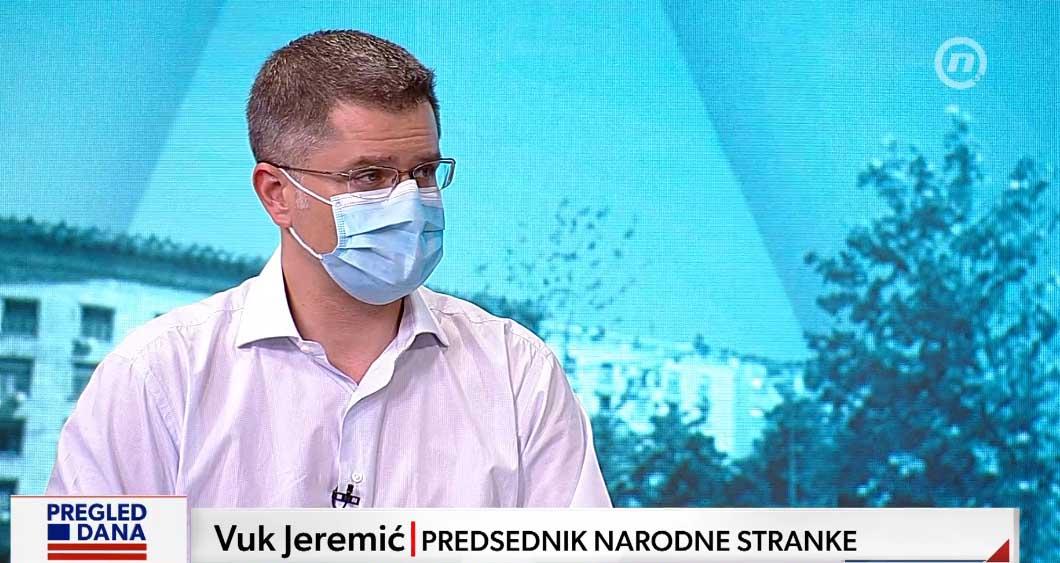Јеремић: Народна странка од данас наступа самостално