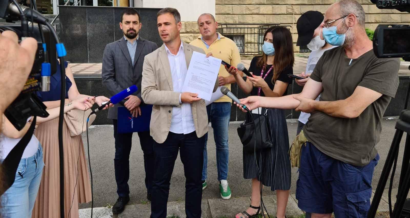 Алексић: Кривична пријава због пљачке 500 милиона евра из Телекома
