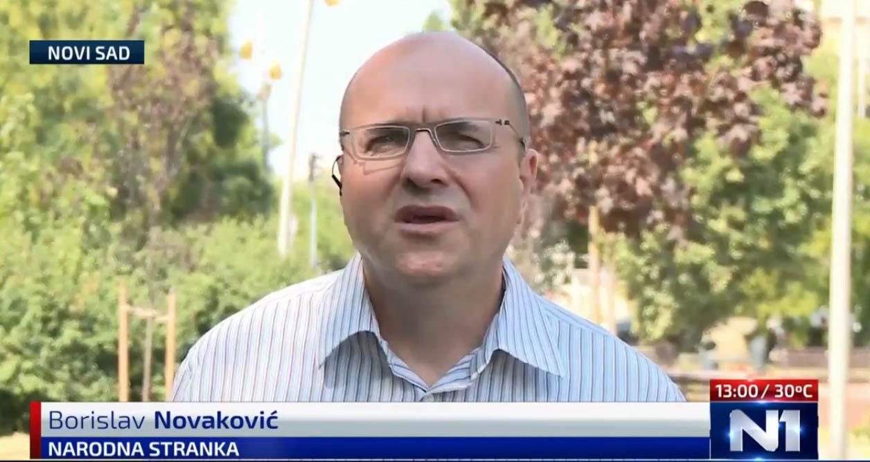 Новаковић: Контић заштићен од одговорности за пребијање јер је део система СНС-а