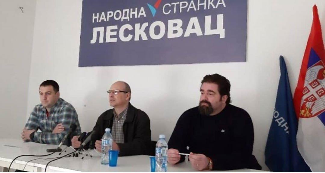 Народна странка Лесковац: Неприхватљиво је да се зида зграда на зеленој површини