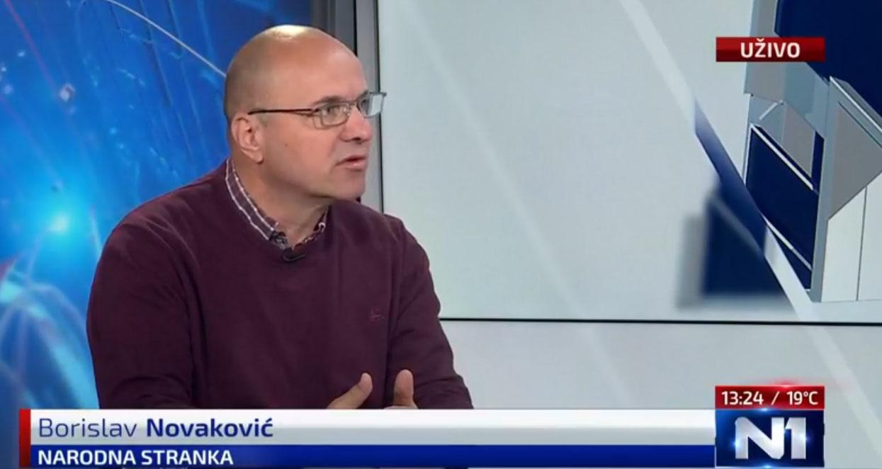 Новаковић: Створен снажан покрет грађанске непослушности и отпора Новом Саду на води