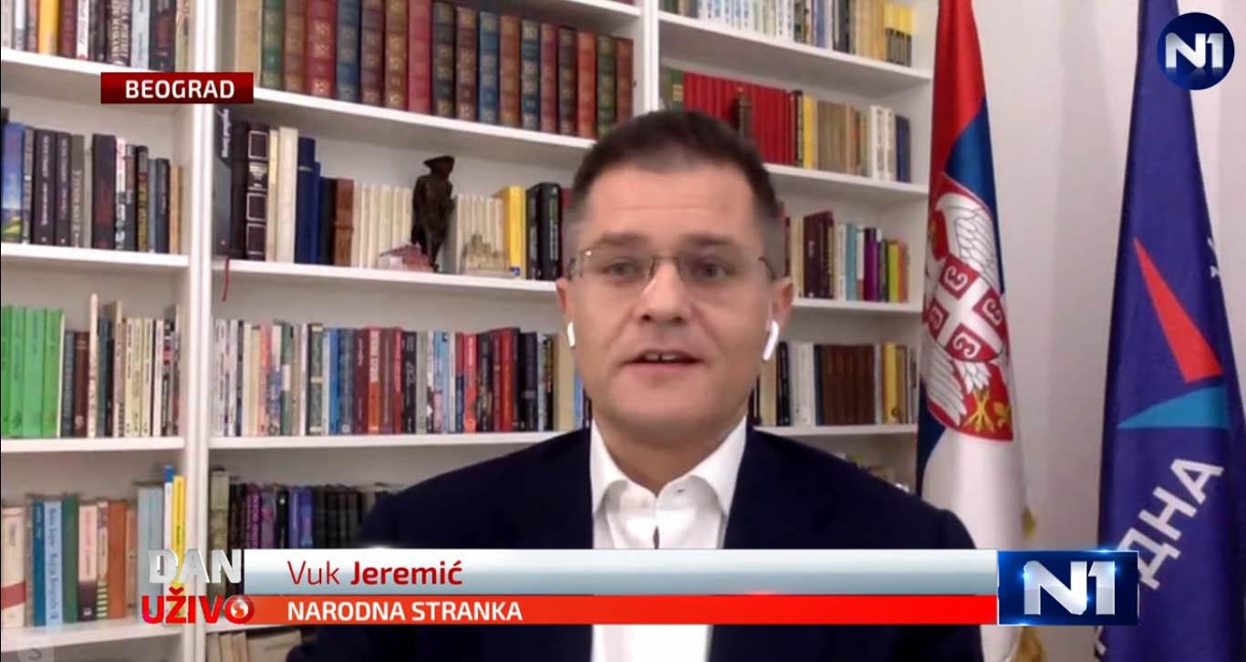 Јеремић: Полиција је сигурно у стању да утврди ко ми је упутио мафијашку претњу