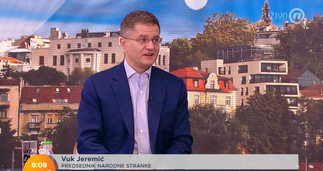 Јеремић: Полиција зна ко је лепио увредљиве плакате, сумњам на владајућу странку
