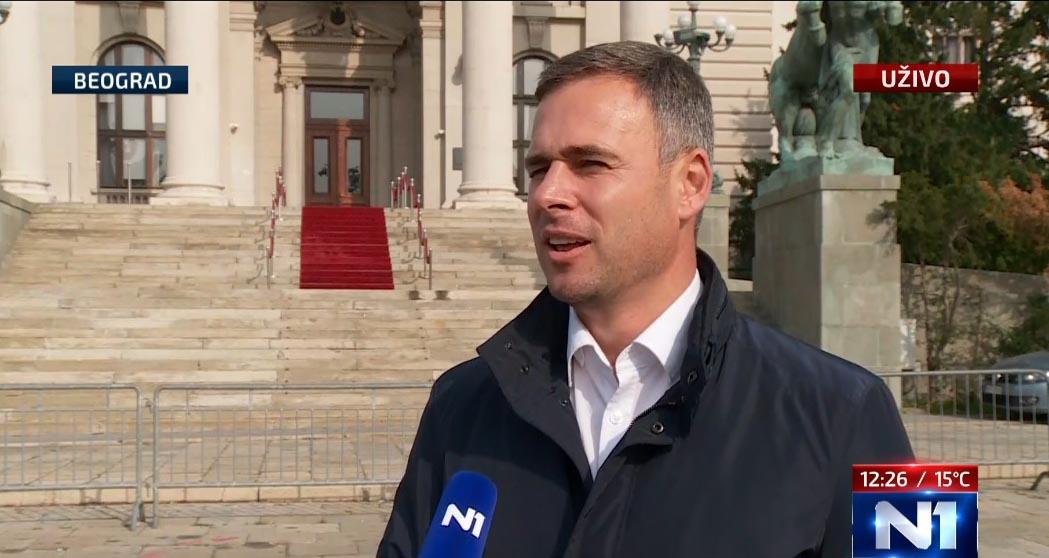 Алексић: Експозе Ане Брнабић је фикција и почетак предизборне кампање