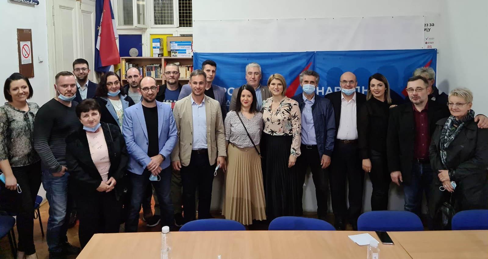 Рума: Основан општински одбор Народне странке