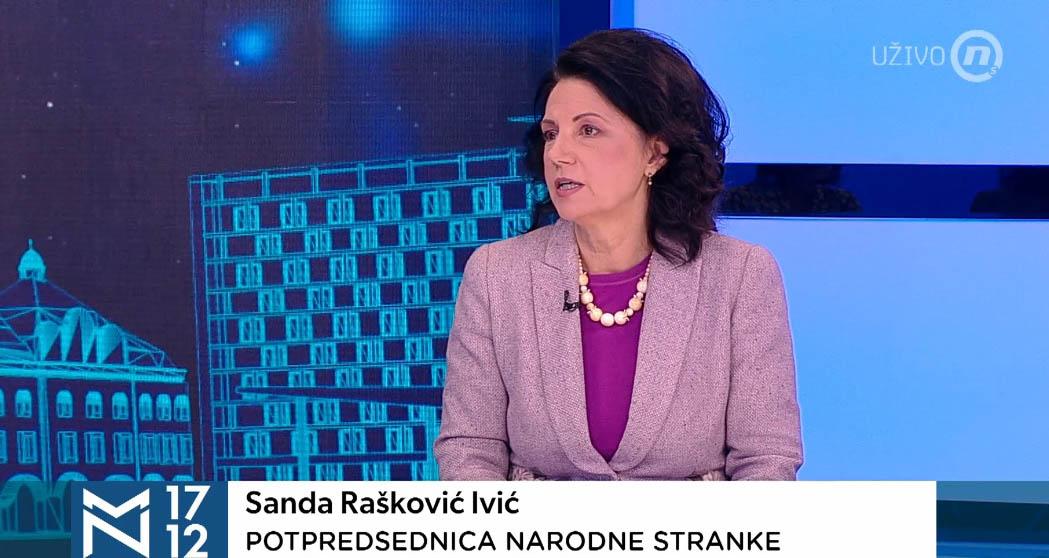 Санда Рашковић Ивић: Честитам Милени Радуловић, Алексић да буде егземпларно кажњен