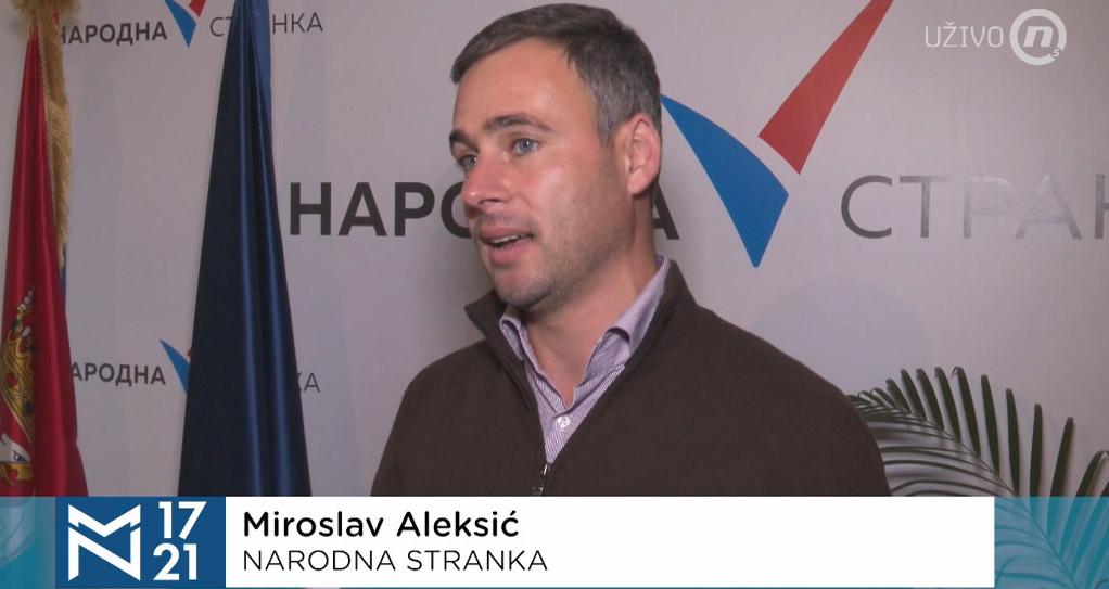 Алексић: Страховит притисак режима да би се сакрила политичка позадина Јовањице