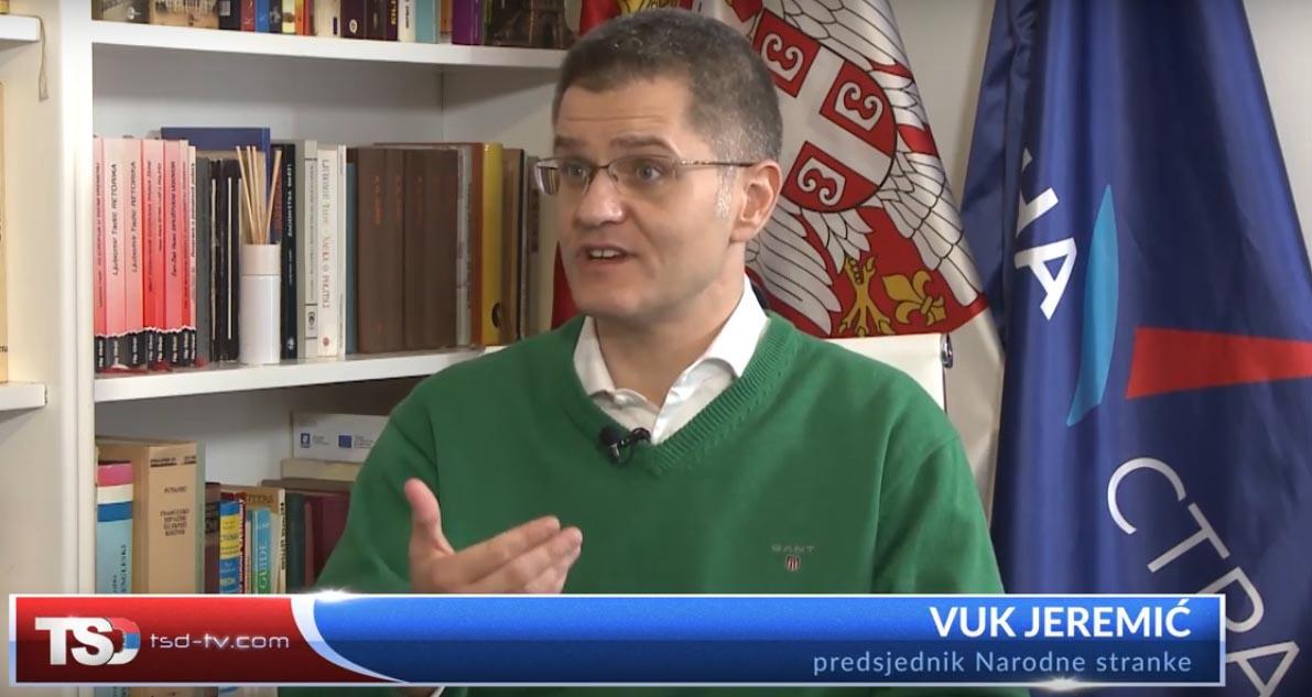 Јеремић: Чврст став о статусу Косова предуслов за нормализацију животних прилика
