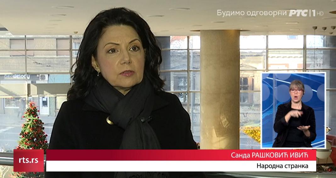 Санда Рашковић Ивић: Два преговарача да представљају опозицију у дијалогу о изборима