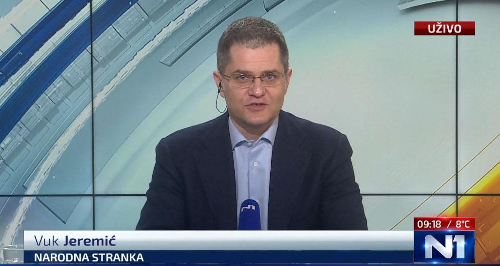 Јеремић: Два преговарача да представљају опозицију, договор до краја јануара