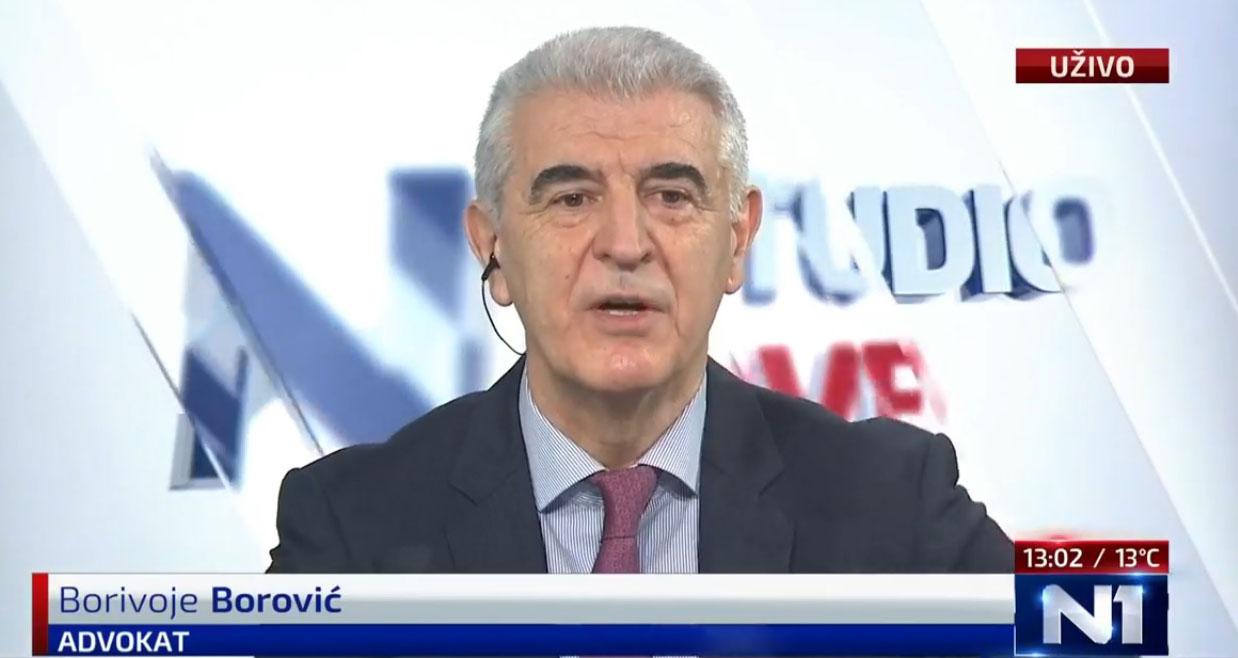 Боровић: Вучић свесно дисквалификовао истрагу да се не би дошло до озбиљних ствари