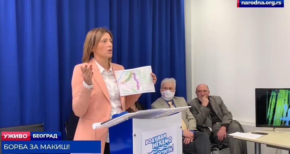 Марина Липовац Танасковић: Метро пројектован да служи инвеститорима, а не грађанима
