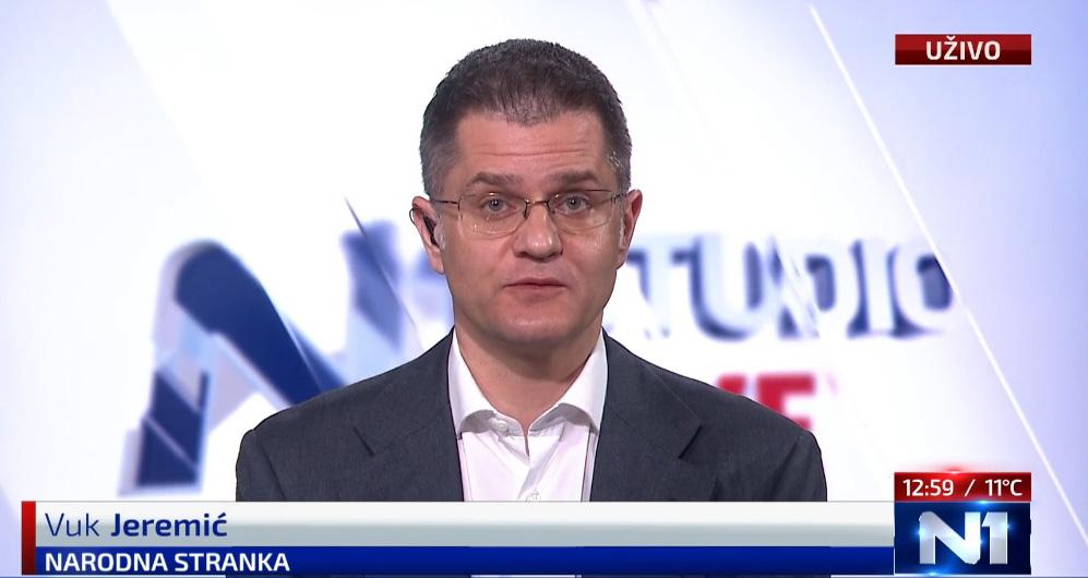 Јеремић: Готова платформа за преговоре, остаје да се договоримо о преговарачима