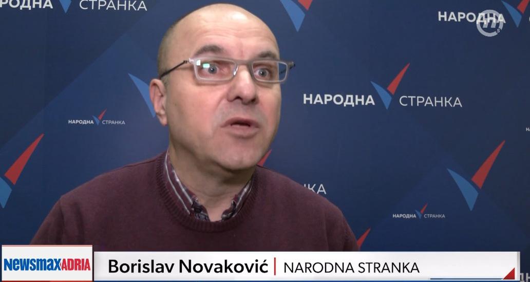Новаковић: Протест испред БИА ако се начелник не повуче из ФК Војводине