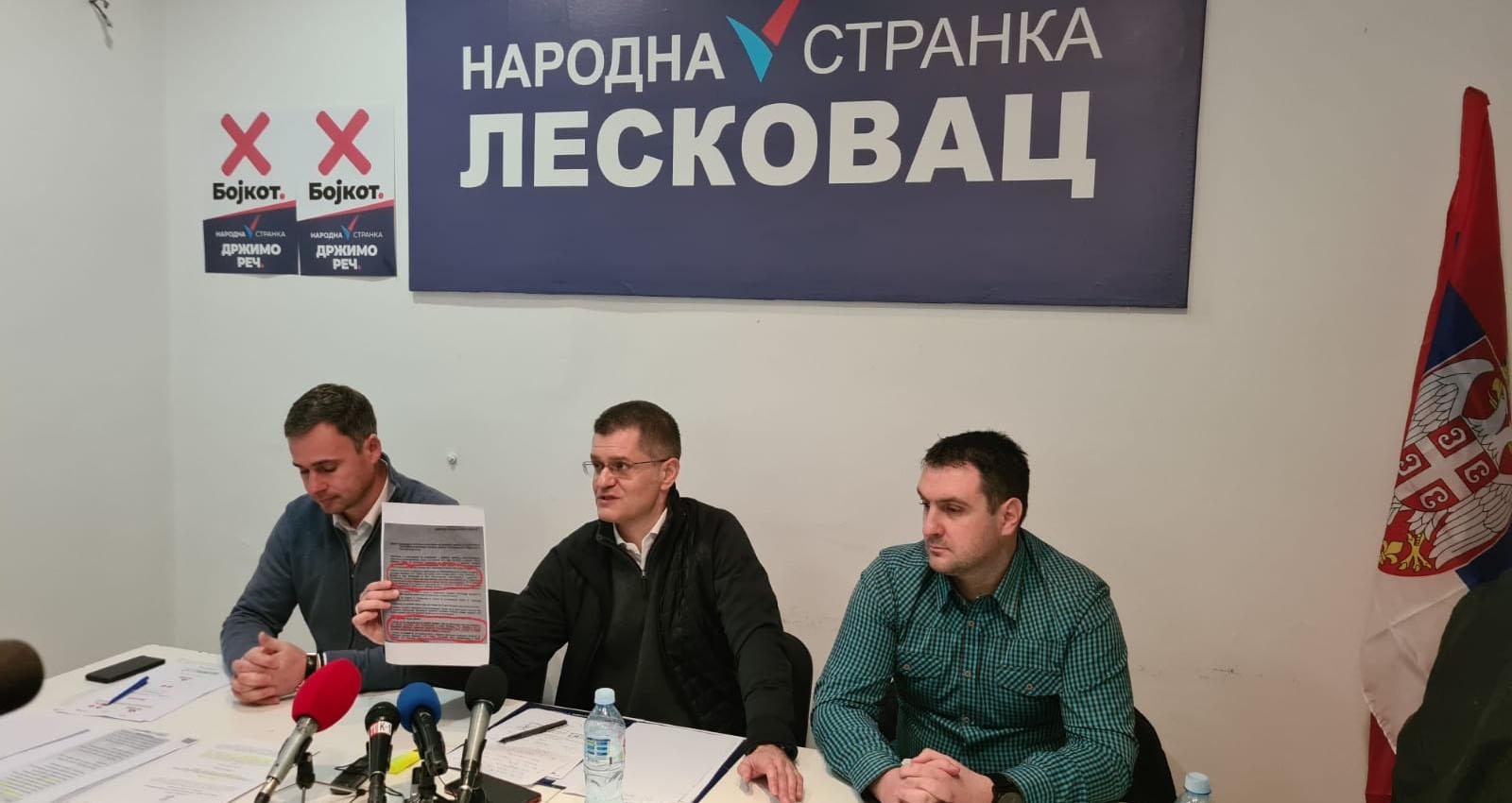 """Јеремић: Народна странка објавила рат корупцији, мета нам је """"Миленијум тим"""""""
