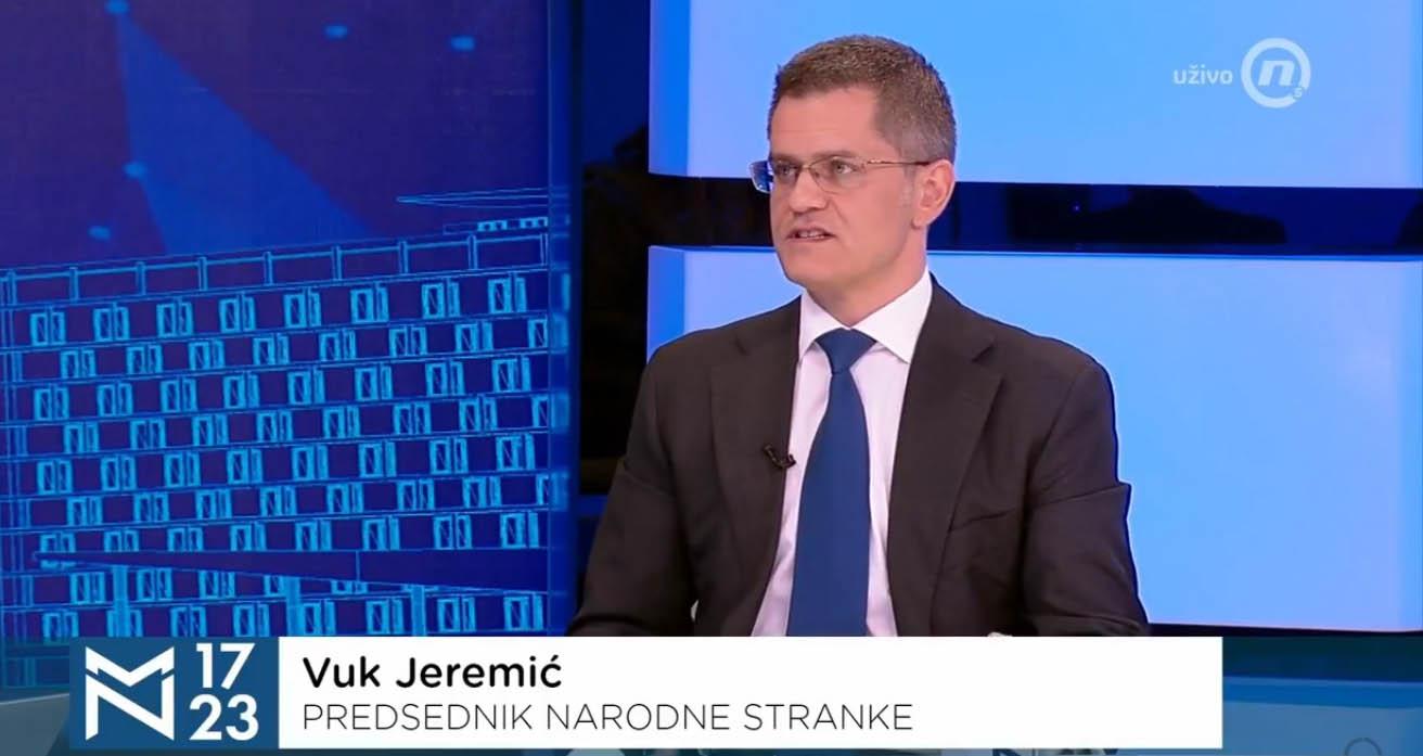 Јеремић: Нећемо да будемо саучесници у још једном сахрањивању наде