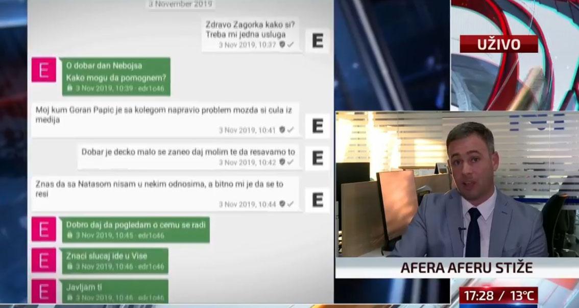 Алексић: Наводна преписка Стефановић-Доловац довољна за хапшење, утврдити истинитост