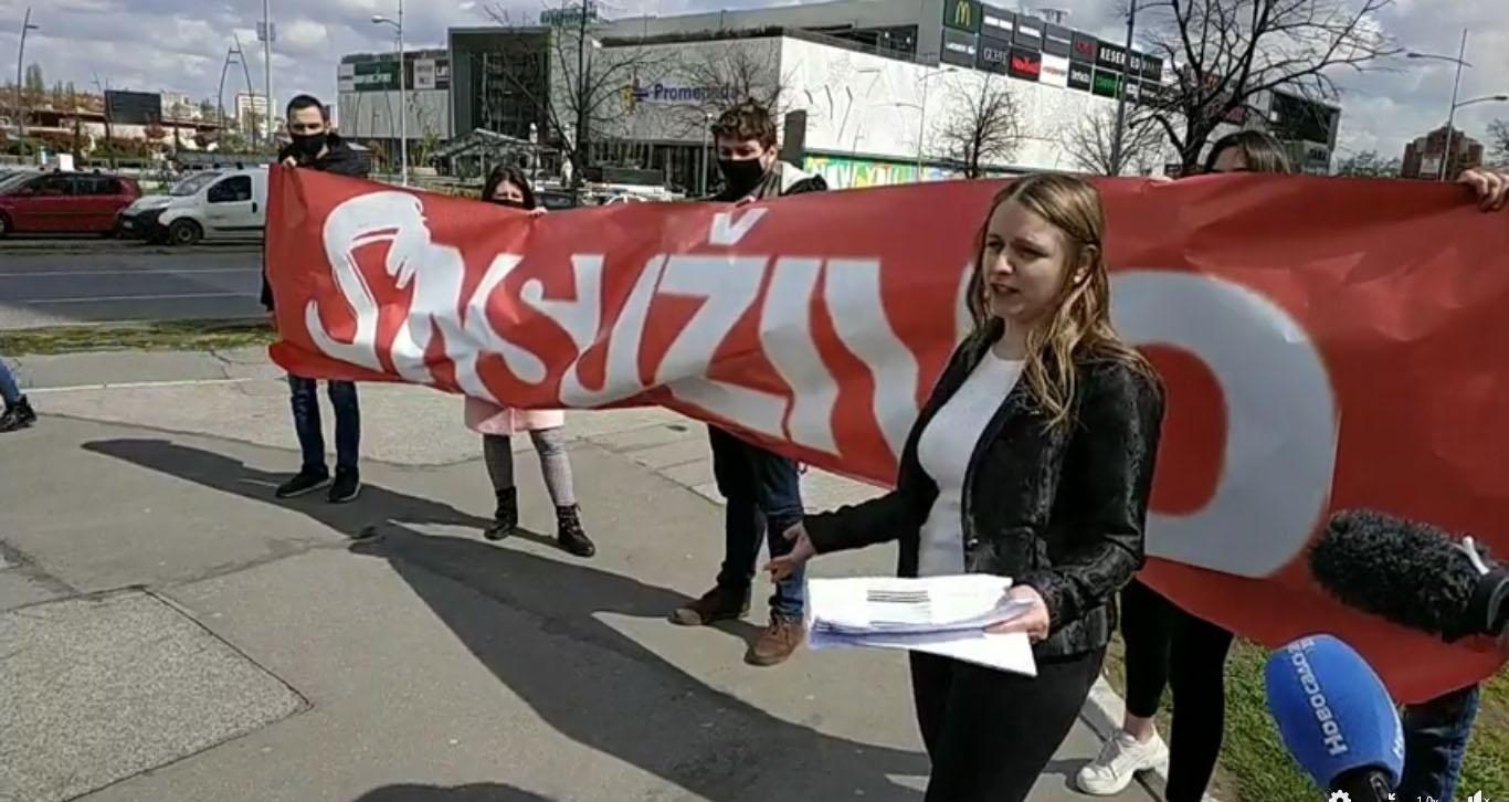 Омладина Народне странке Нови Сад: Градски новци за партијску пропаганду