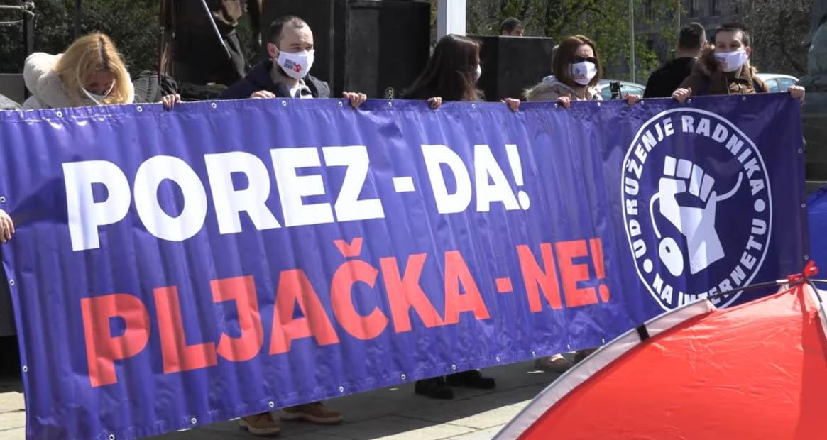 Влада Србије да прихвати захтеве фриленсера