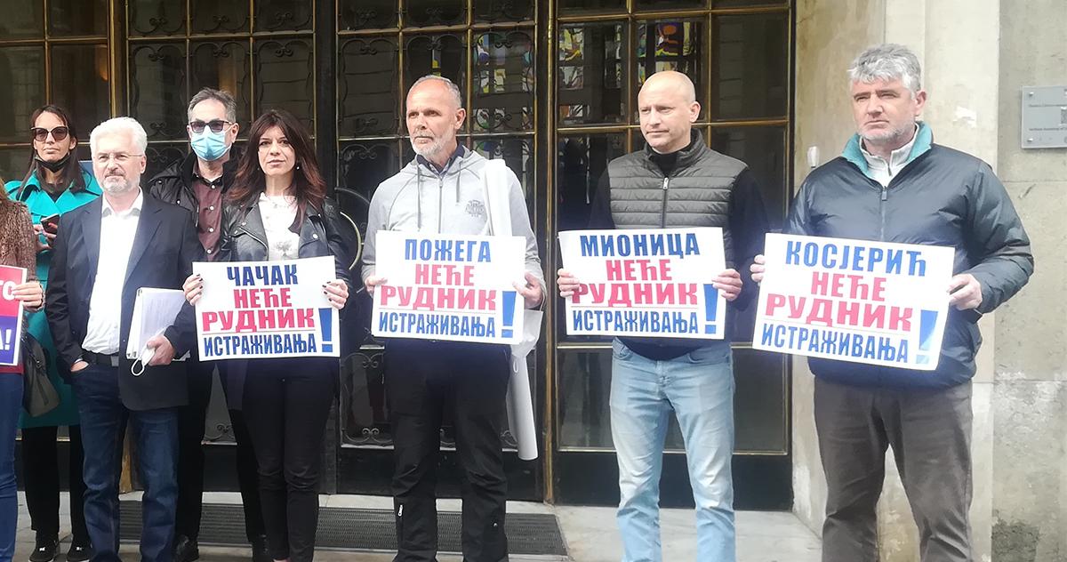 Ивана Парлић: Зауставити пројекат Јадар и геолошка истраживања