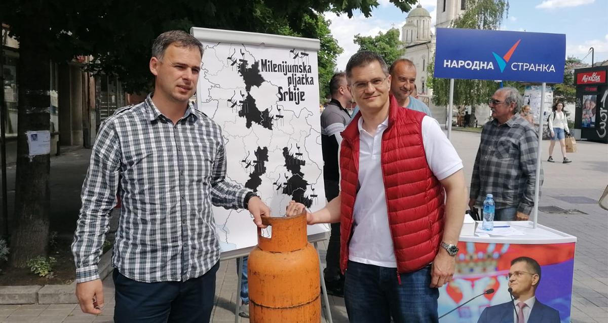 Јеремић: Где завршава новац намењен за гасификацију?