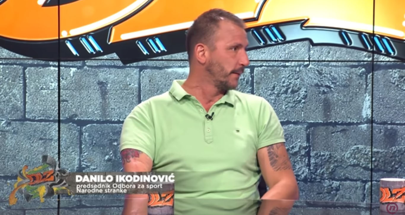 Икодиновић: Удовичић није постигао готово никакве резултате као министар спорта