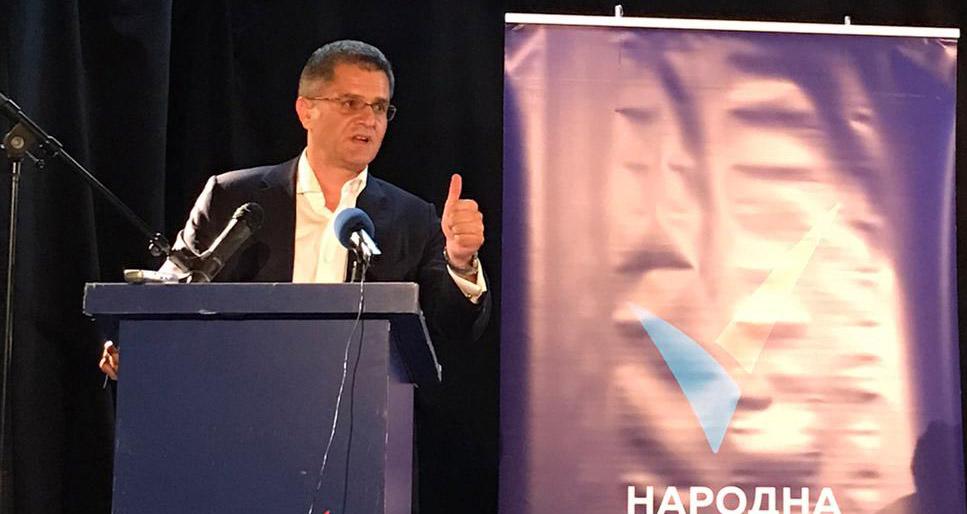 Јеремић: Србија је воз на колосеку за пропаст којим управља помахнитали машиновођа