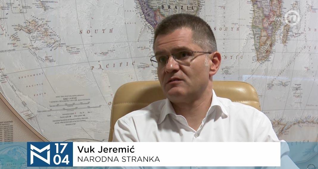 Јеремић: Вучић одбио телевизијски дуел, али је претио и вређао, позивао ме је да га ударим