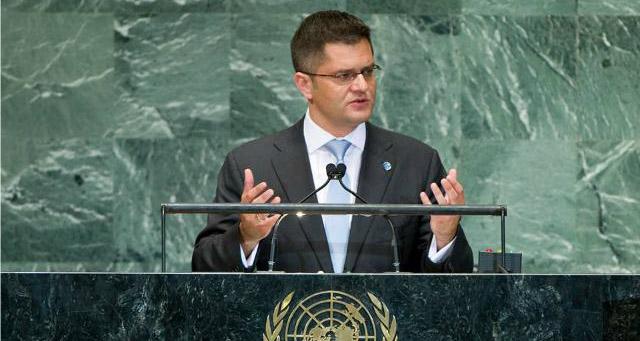Јеремић у писму Селаковићу: Подршка Албанији у УН је порука да Србија нема чврст став о Косову