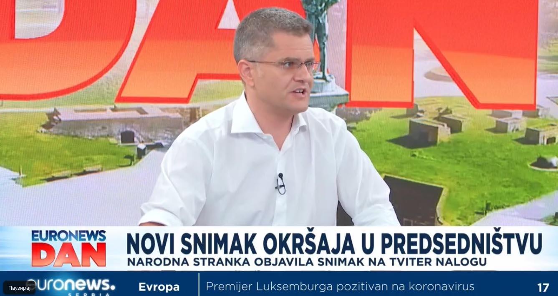 Јеремић: Не осећам потребу да се извиним Вучићу јер сам га назвао издајником