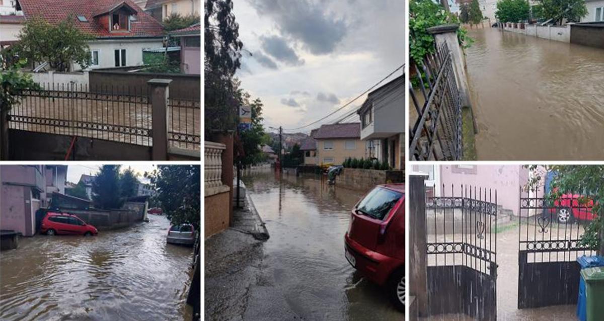 Народна странка Вождовац: Због небриге режима поплављено насеље Војводе Влаховић