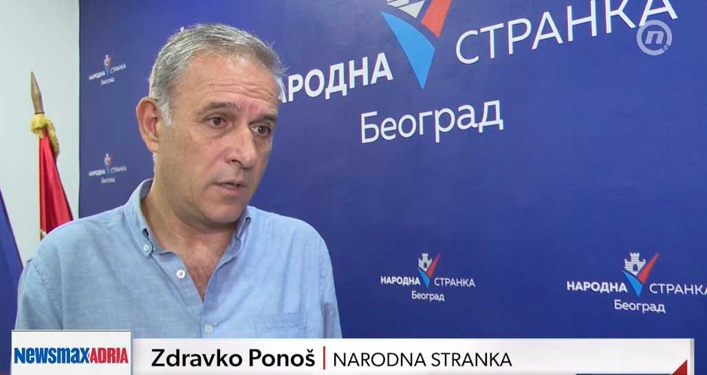 Понош: Опозиција побеђује у Београду ако буде сложна, све зависи од нас