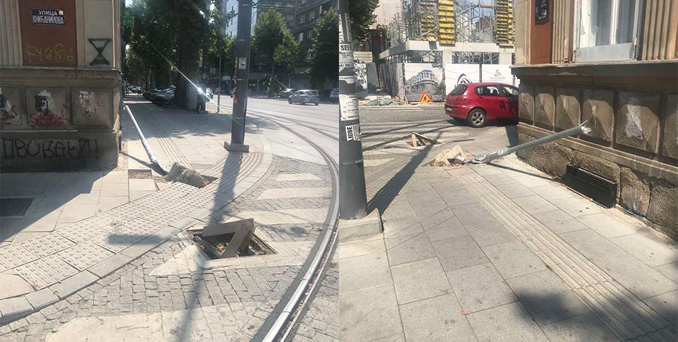 Народна странка Стари град: Четири месеца од несреће на Дорћолу власт није санирала оштећења
