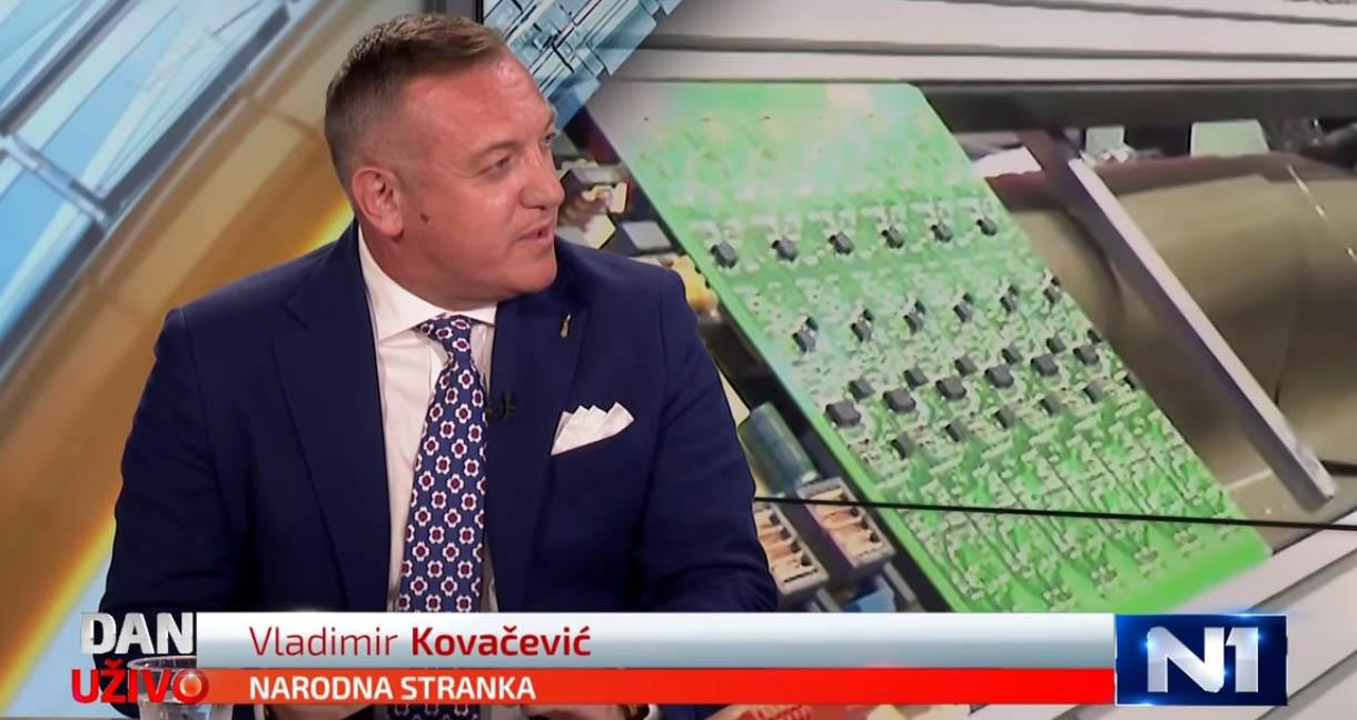 Ковачевић: Подићи лимит за репрограм плаћања пореза на 50.000 евра