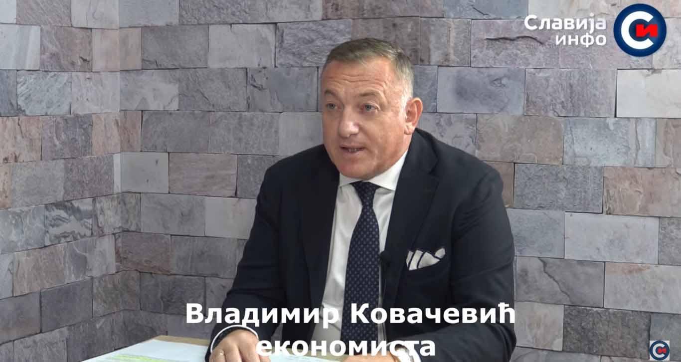 Ковачевић: Политика расипника на власти – продај све, па узми кредит