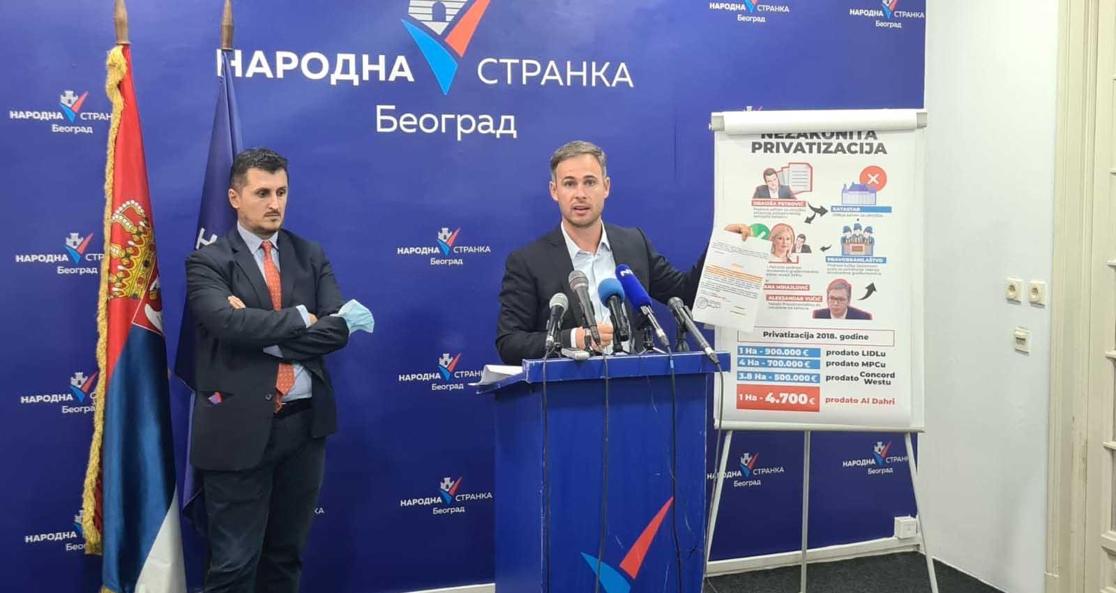 Алексић: Народна странка тражи поништај незаконите приватизације ПКБ-а