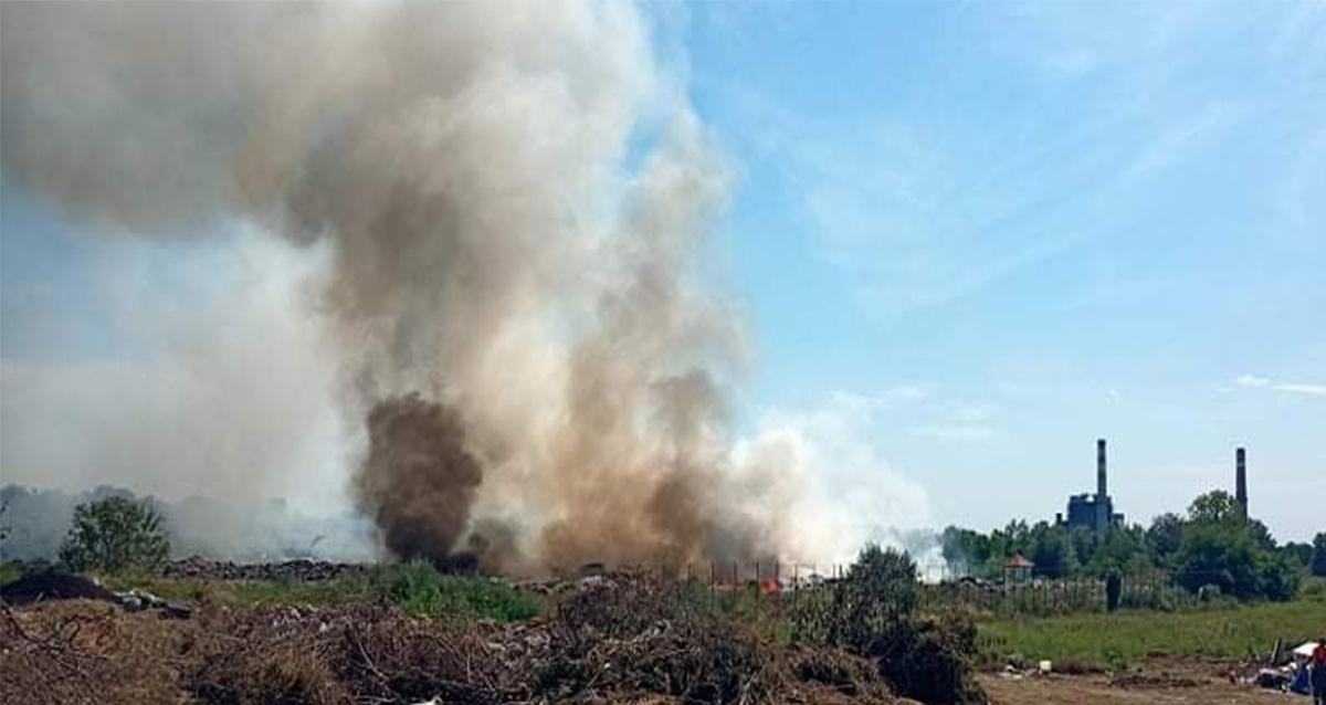 Народна странка Костолац: Ко ће одговарати за учестале пожаре на депонији?
