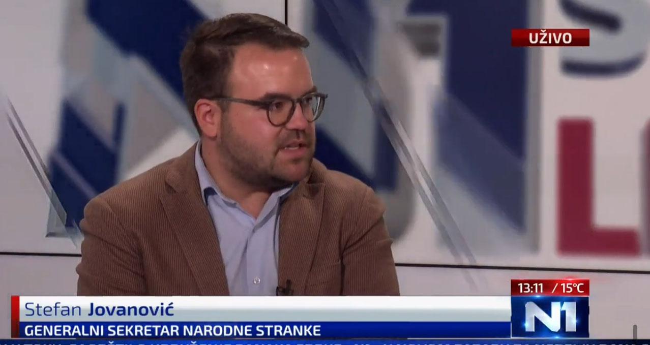 Јовановић: Власт једнострано примењује неусвојени документ на штету грађана