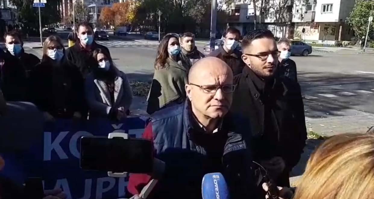 Новаковић: Ревијално хапшење осумњиченог за паљење аутомобила у Новом Саду
